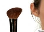 Como utilizar pincéis de Maquilhagem