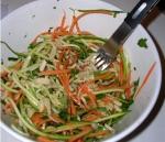 Esparguete de alimentos Crus